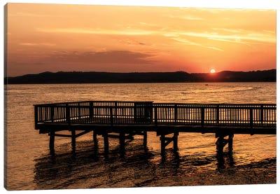 Lake Sunset Canvas Art Print
