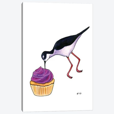 Cupcakes Tilt Canvas Print #AAT14} by Alasse Art Canvas Art