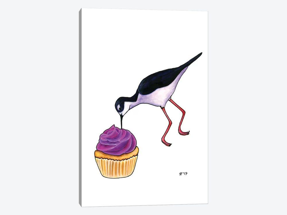 Cupcakes Tilt by Alasse Art 1-piece Canvas Print