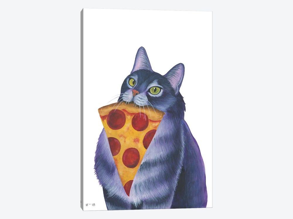 Pizza Slice by Alasse Art 1-piece Canvas Art Print