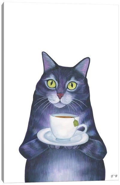 Alice Tea Canvas Art Print
