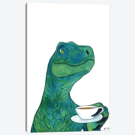 Tea Raptor Canvas Print #AAT54} by Alasse Art Canvas Art
