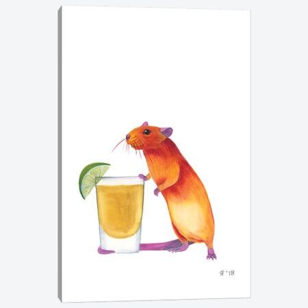 Tequila Rat Canvas Print #AAT60} by Alasse Art Canvas Artwork