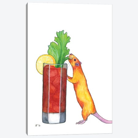 Bloody Mary Canvas Print #AAT7} by Alasse Art Canvas Print