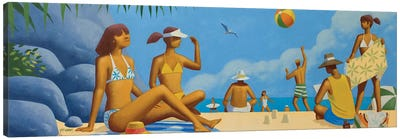 Beach Montage II Canvas Art Print