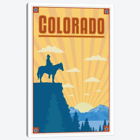 Colorado Canvas Print #AAW16} by Anvil Artworks Art Print