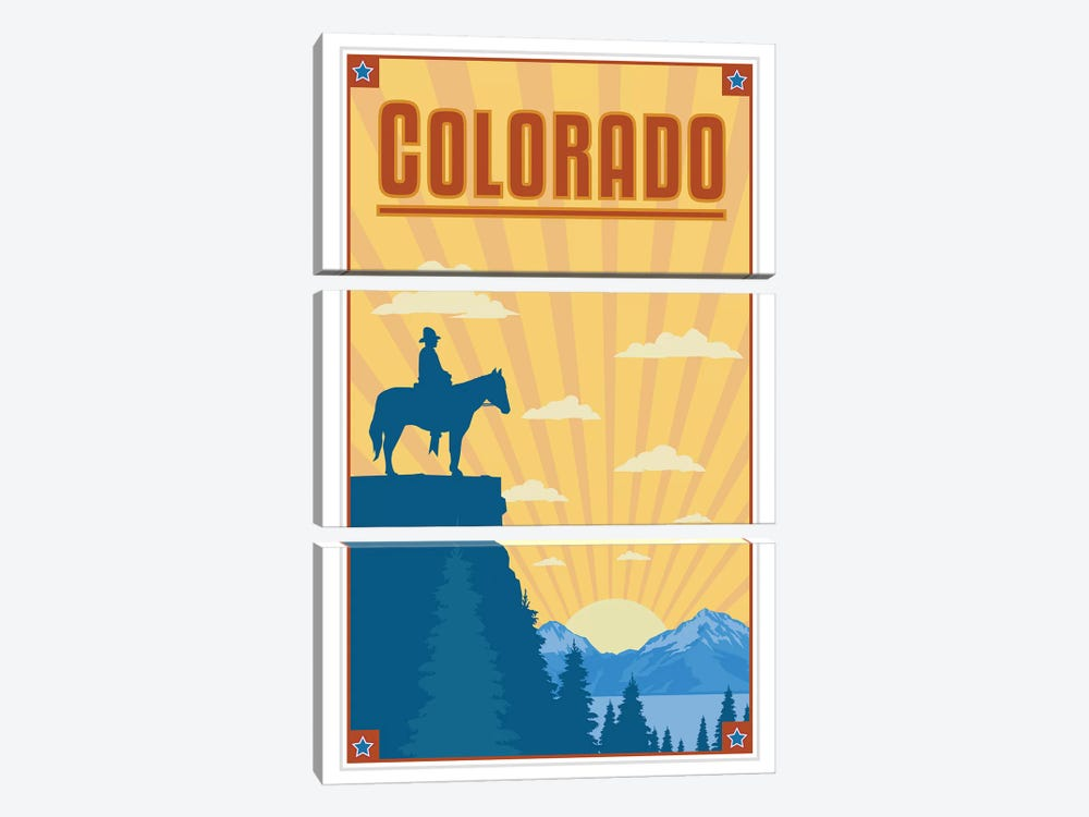 Colorado by Anvil Artworks 3-piece Art Print