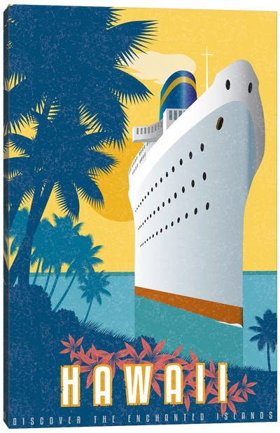 Cruising Hawaii Canvas Art Print
