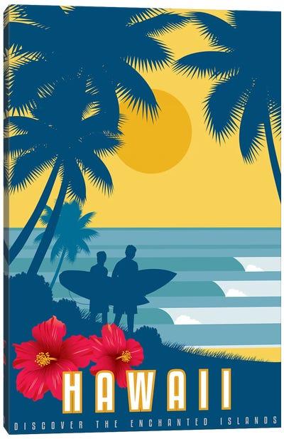 Discover Hawaii Canvas Art Print