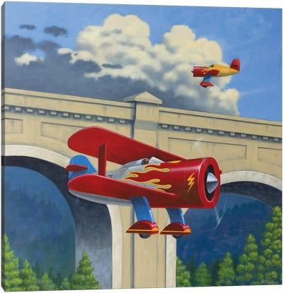 Air Race Canvas Art Print