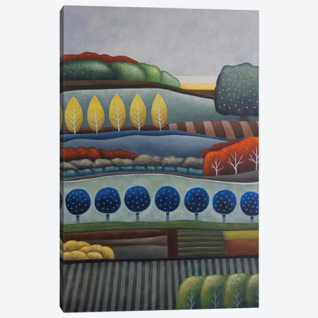Dusk Fruits And Fields Canvas Print #AAW21} by Anvil Artworks Canvas Art Print