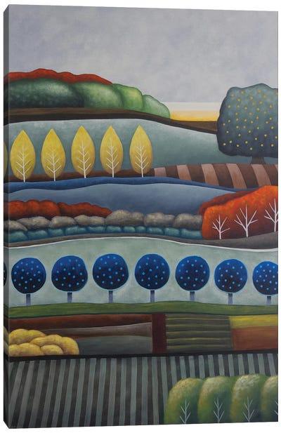 Dusk Fruits And Fields Canvas Art Print