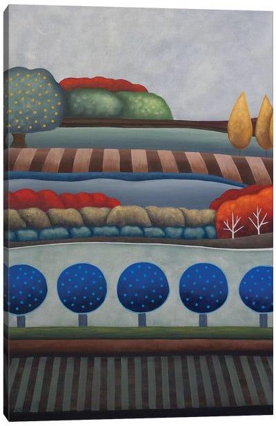 Dusk Trees Canvas Art Print