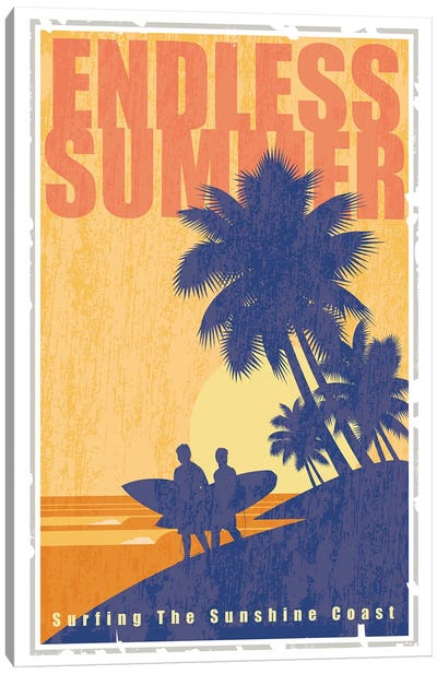 Endless Summer Canvas Art Print