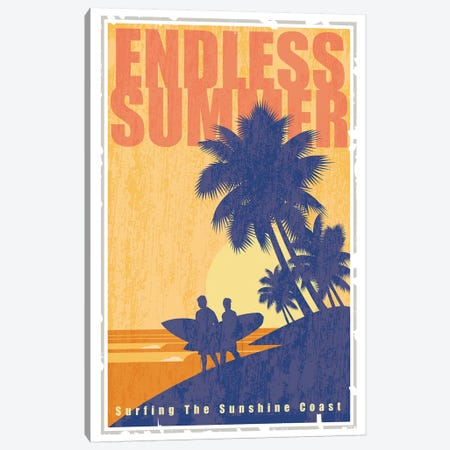 Endless Summer Canvas Print #AAW23} by Anvil Artworks Art Print