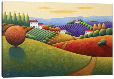 Fields Of Tuscany Canvas Art Print