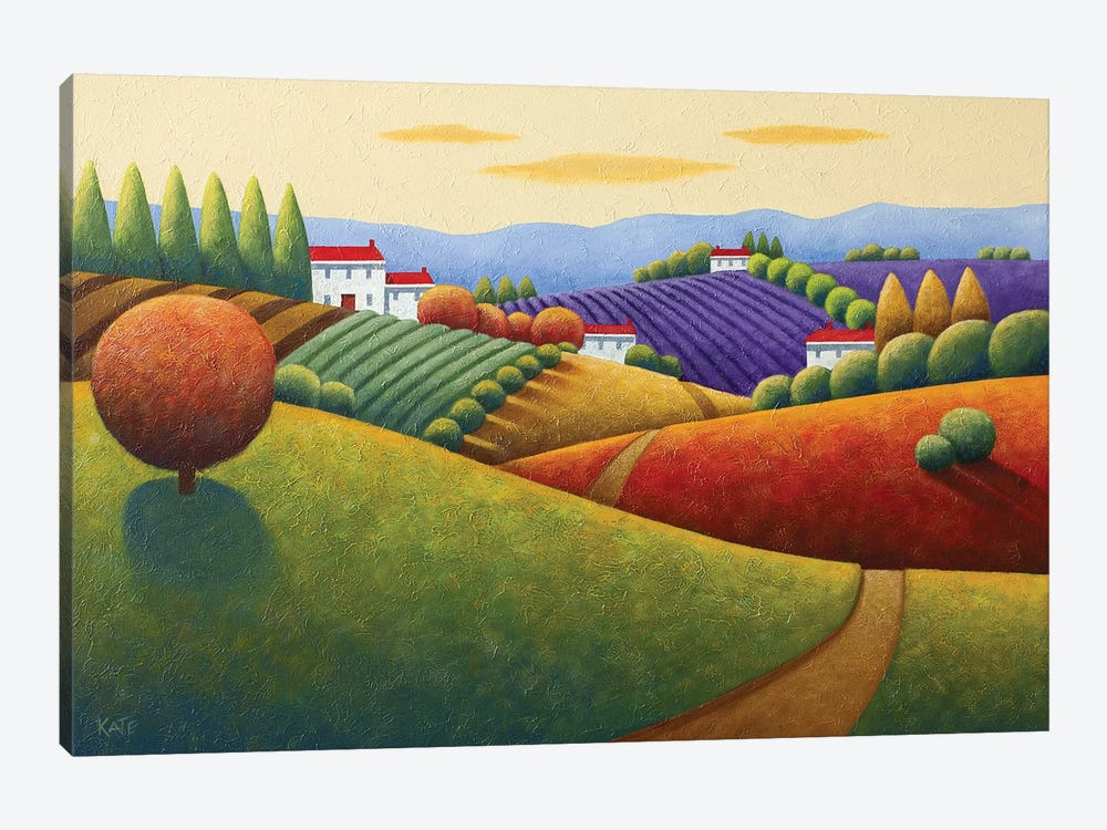 Fields Of Tuscany by Anvil Artworks 1-piece Canvas Wall Art