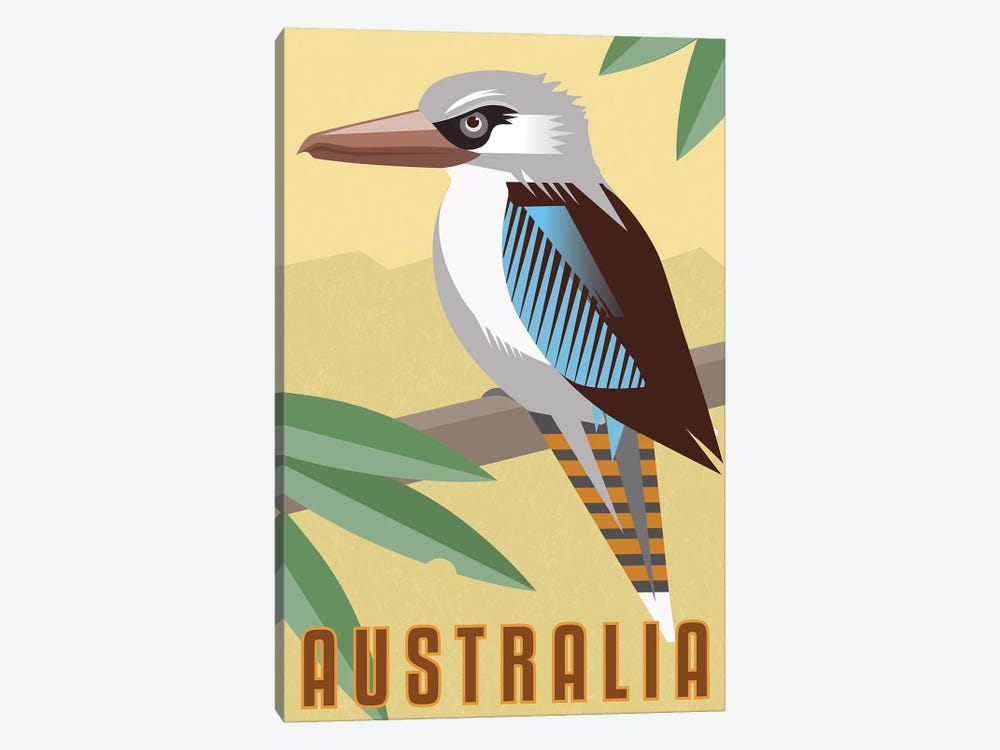 Kookaburra by Anvil Artworks 1-piece Art Print