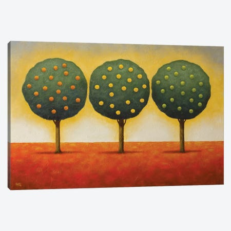Lemon Lime And Orange Canvas Print #AAW39} by Anvil Artworks Canvas Wall Art
