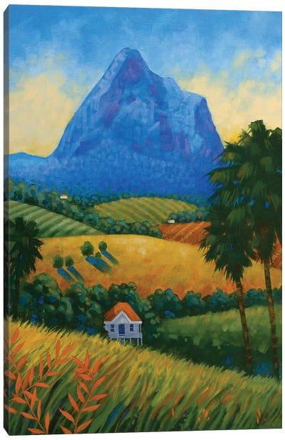 Mount Tibrogargan II Canvas Art Print