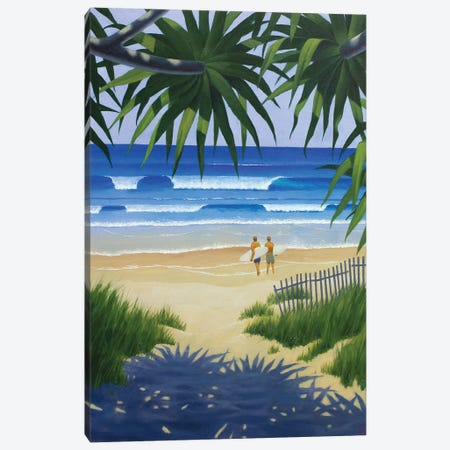 Secret Beach Canvas Print #AAW56} by Anvil Artworks Canvas Print