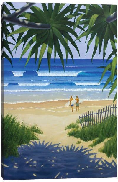 Secret Beach Canvas Art Print