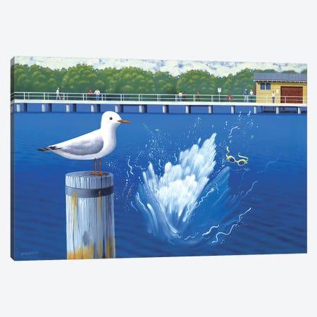 Splash Canvas Print #AAW57} by Anvil Artworks Canvas Art Print