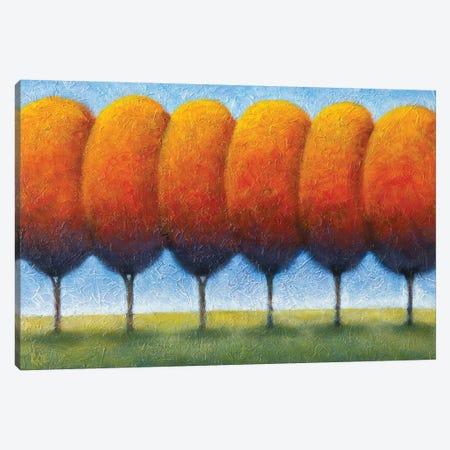 Autumn Boulevard Canvas Print #AAW5} by Anvil Artworks Canvas Artwork