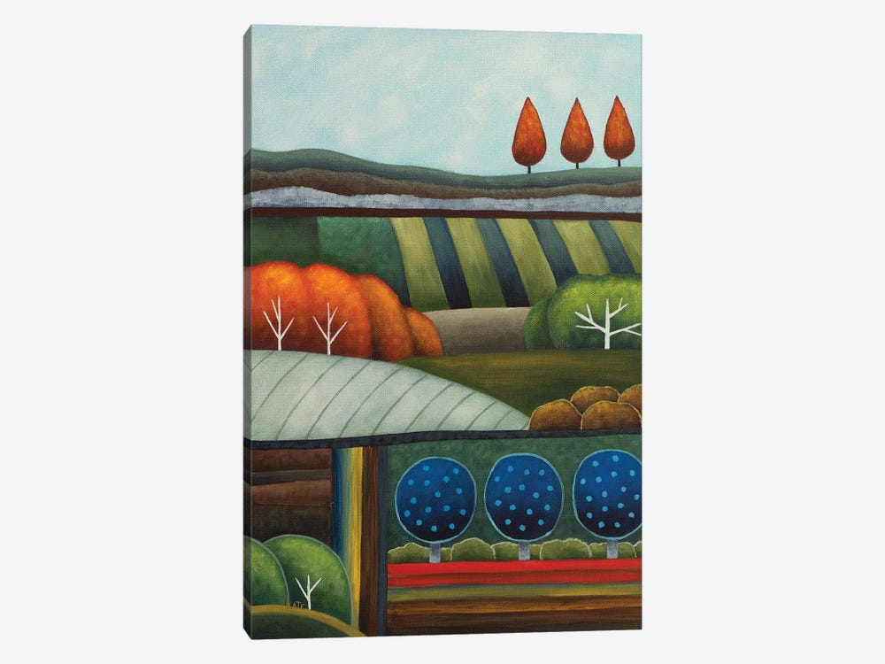 Summer Patchwork by Anvil Artworks 1-piece Canvas Wall Art