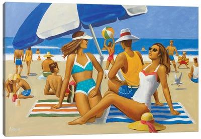 Beach Montage I Canvas Art Print