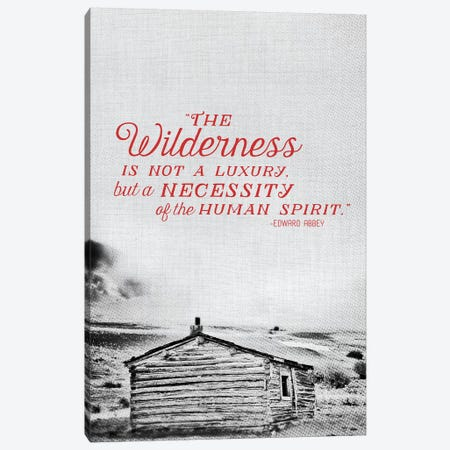 Wilderness Canvas Print #ABA106} by Little Cabin Art Prints Canvas Art Print