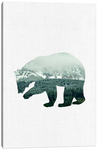 Brown Bear Canvas Art Print