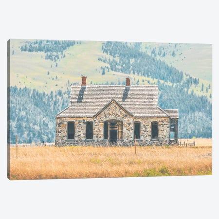 A Simple Life Canvas Print #ABA1} by Little Cabin Art Prints Canvas Art Print