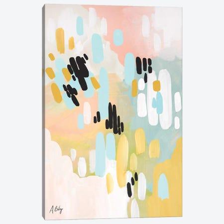 Deep In My Heart Canvas Print #ABA21} by Little Cabin Art Prints Canvas Print
