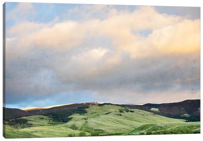 Green Hills Canvas Art Print
