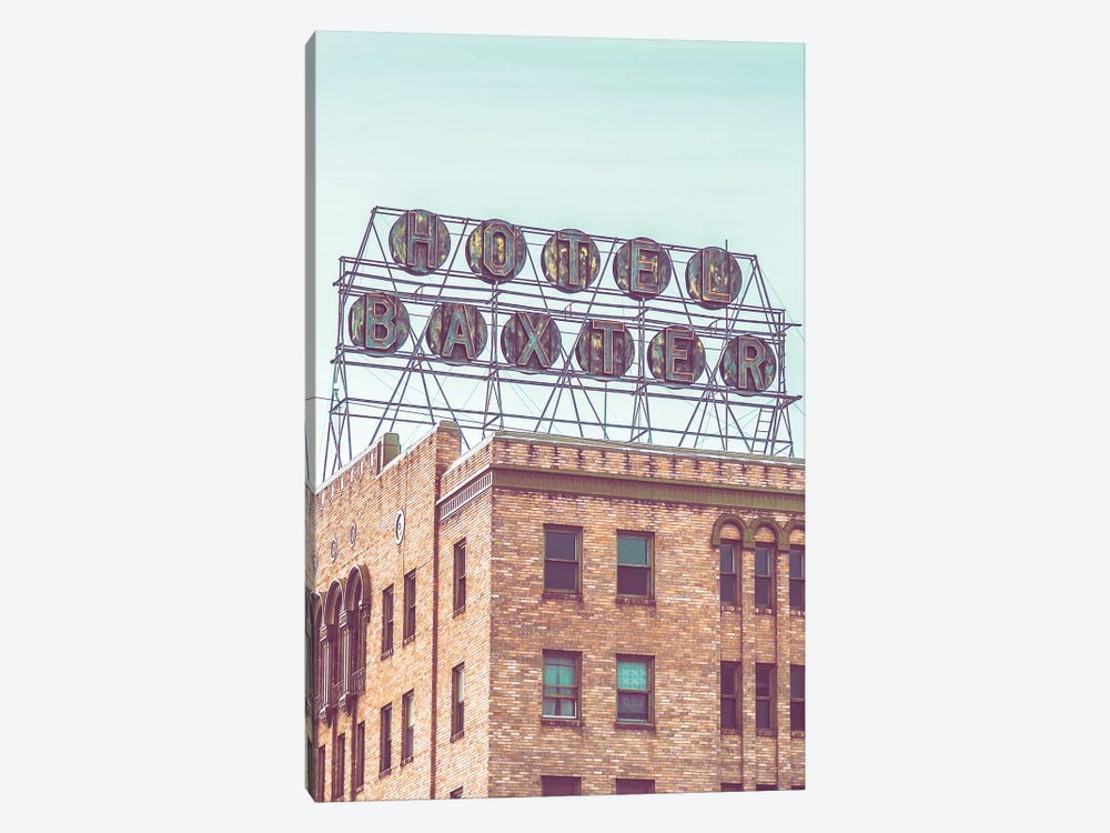Hotel Baxter by Little Cabin Art Prints 1-piece Canvas Print