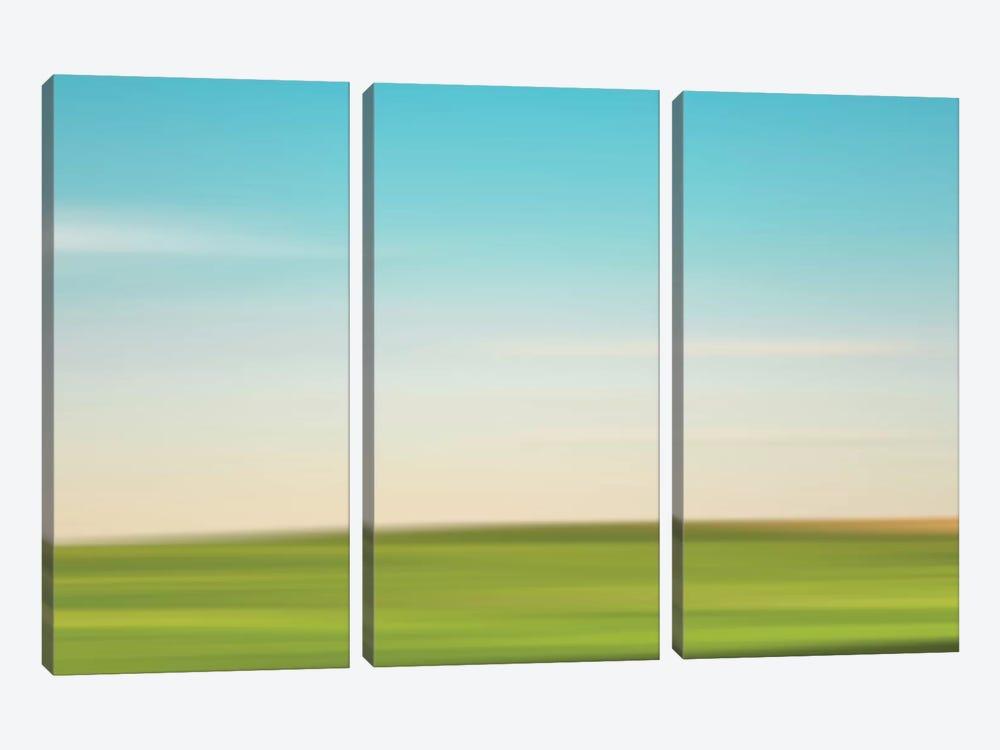 Landscape III by Little Cabin Art Prints 3-piece Canvas Print