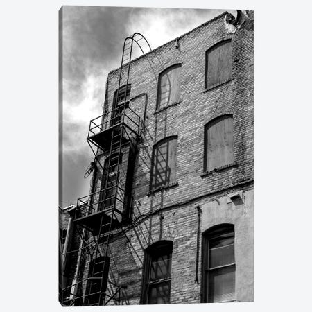 Back Alley Canvas Print #ABA4} by Little Cabin Art Prints Canvas Art