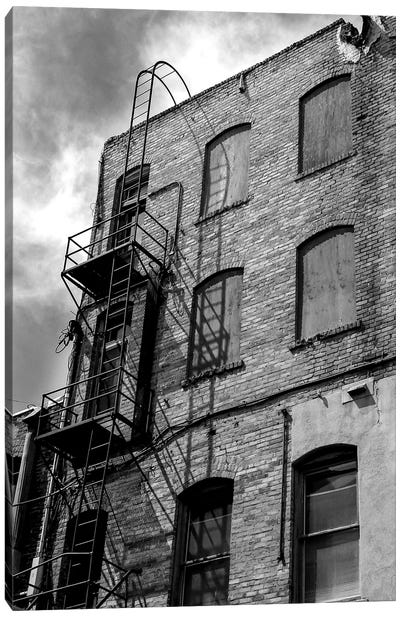 Back Alley Canvas Art Print