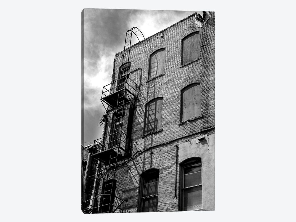 Back Alley 1-piece Art Print