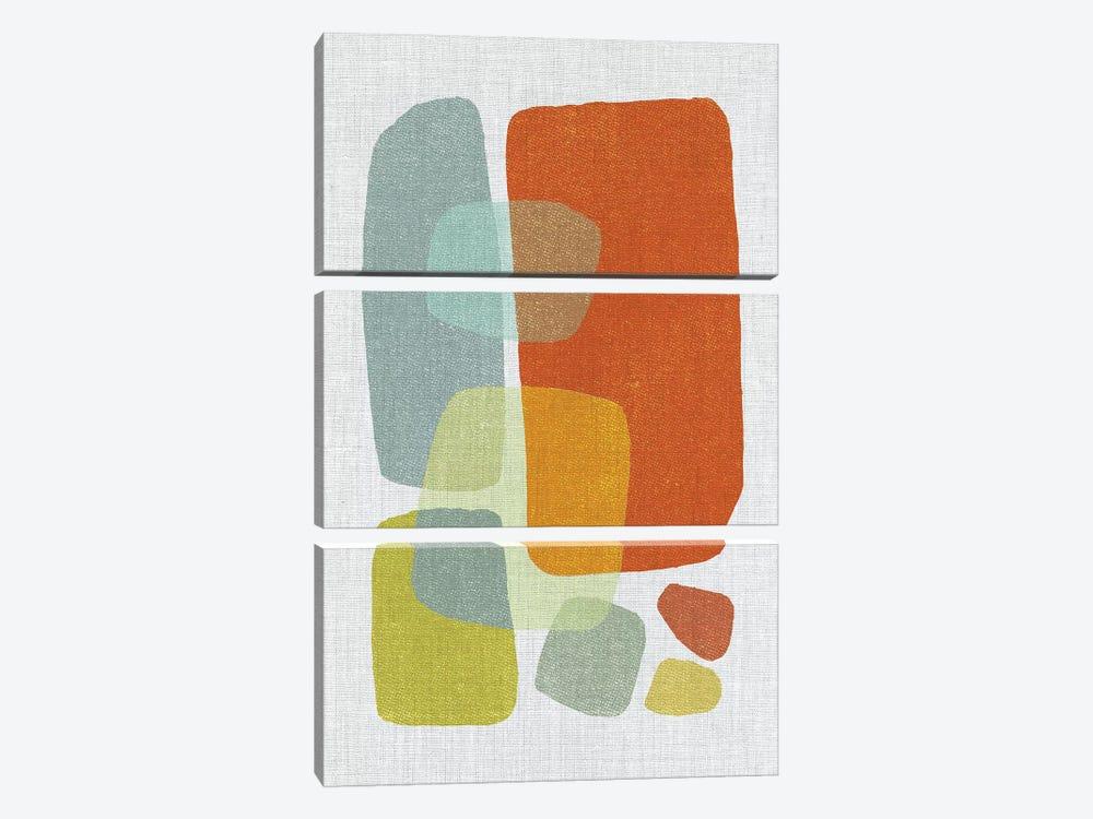 Pods I by Little Cabin Art Prints 3-piece Canvas Print