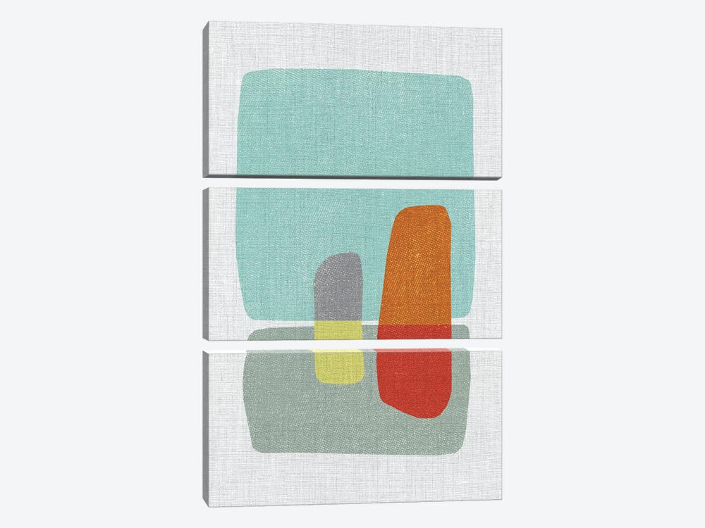 Pods IV by Little Cabin Art Prints 3-piece Canvas Art