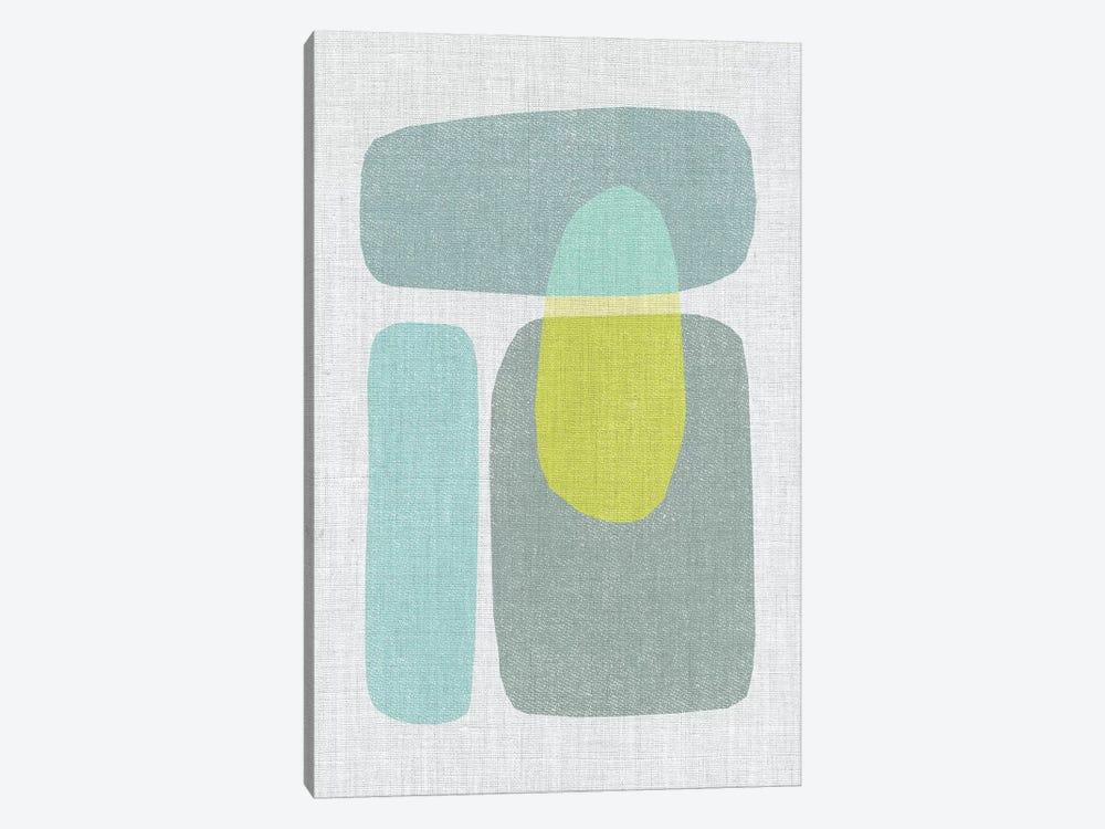 Pods VI by Little Cabin Art Prints 1-piece Canvas Print
