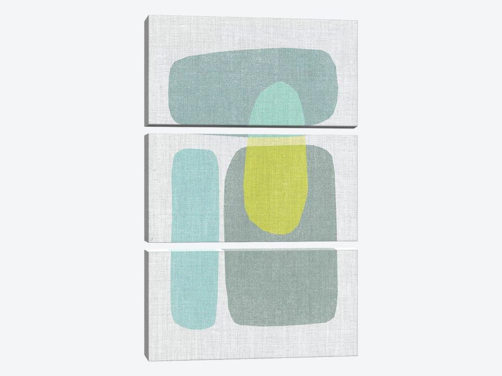 Pods VI by Little Cabin Art Prints 3-piece Canvas Print
