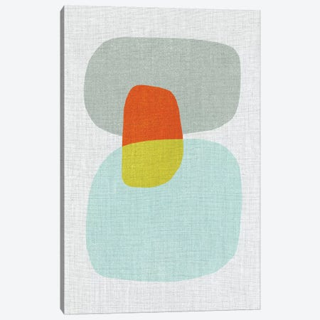 Pods VIII Canvas Print #ABA62} by Little Cabin Art Prints Canvas Print