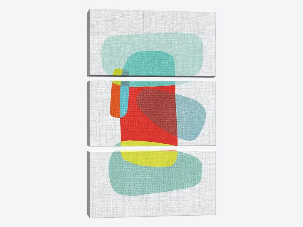 Pods IX by Little Cabin Art Prints 3-piece Canvas Artwork