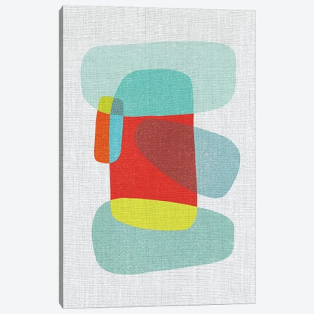 Pods IX Canvas Print #ABA63} by Little Cabin Art Prints Canvas Print