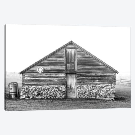 Stone Foundations Canvas Print #ABA89} by Little Cabin Art Prints Canvas Print