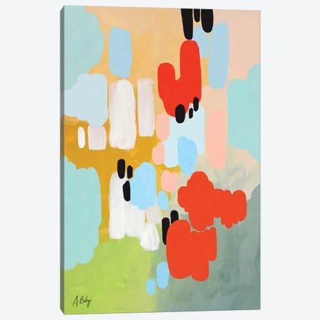 Beating Heart Canvas Print #ABA8} by Little Cabin Art Prints Canvas Art Print