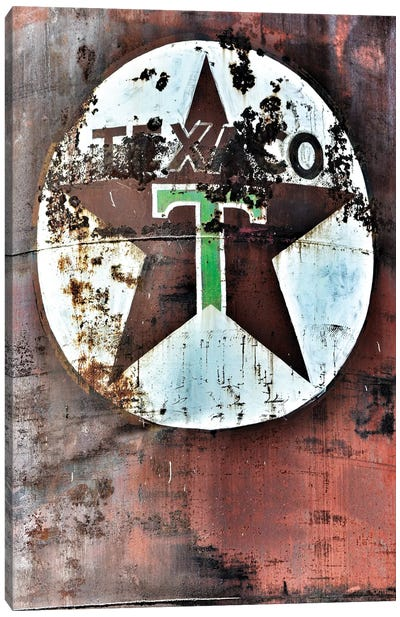 Texaco Canvas Art Print